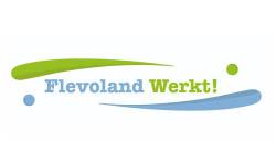 Logo Flevoland werkt